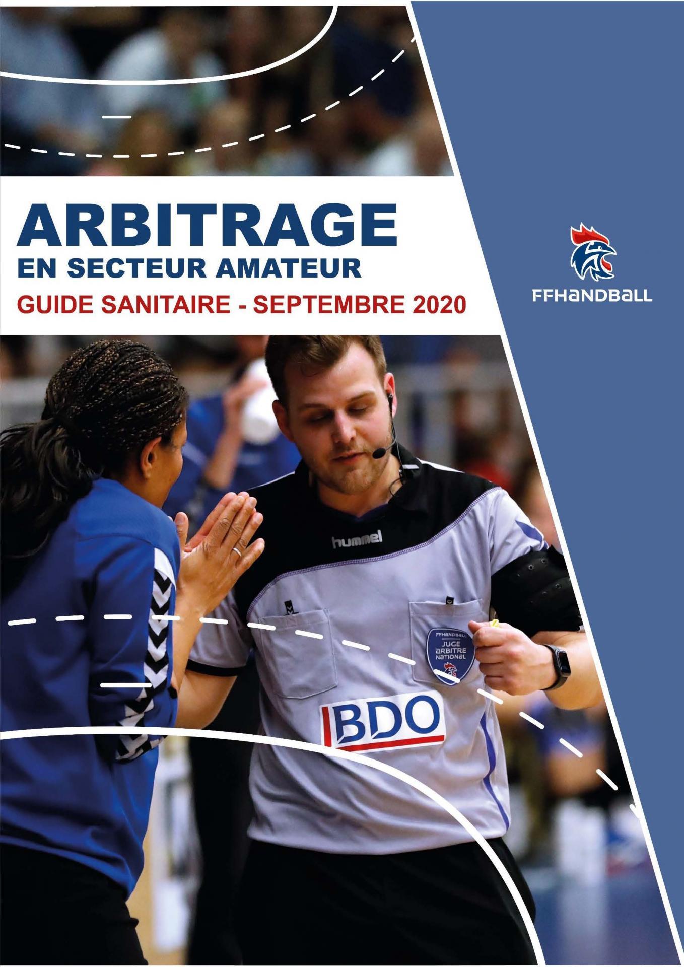 Guide sanitaire arbitrage secteur amateur page 1
